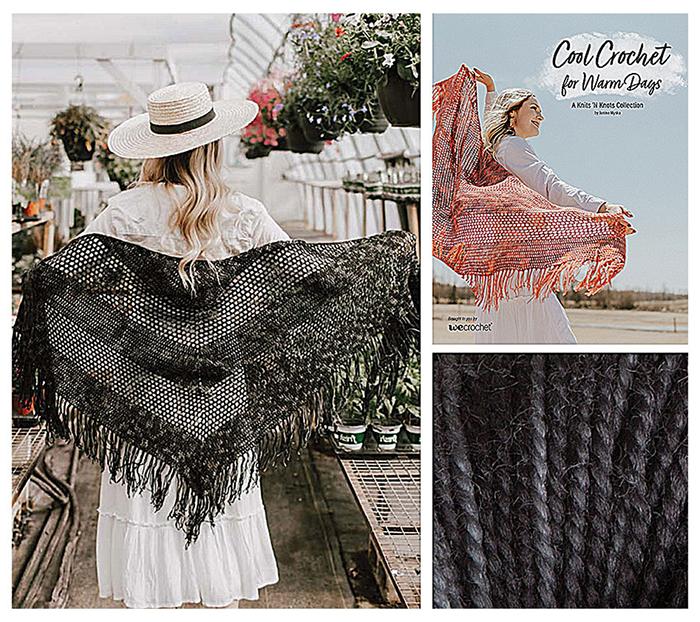 Cool Crochet Kit Dancing in the Sun Wrap Pattern Kit