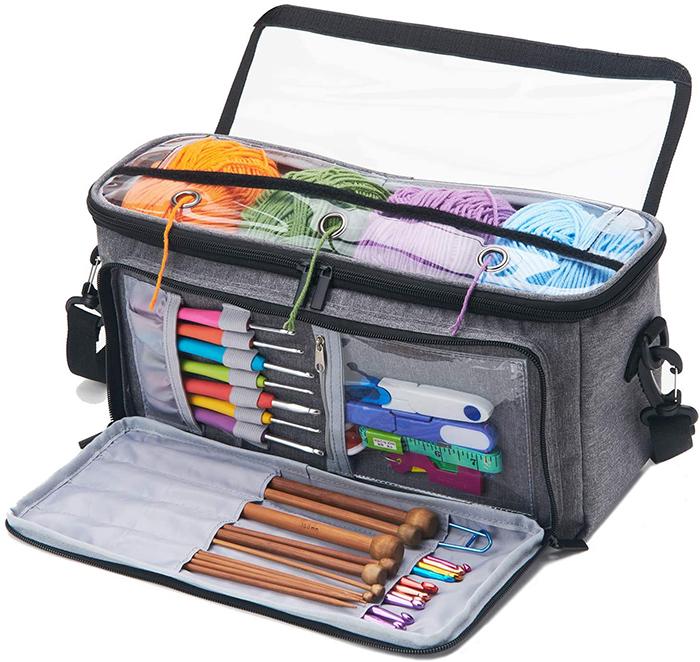 Yarn Storage Bag Organizer