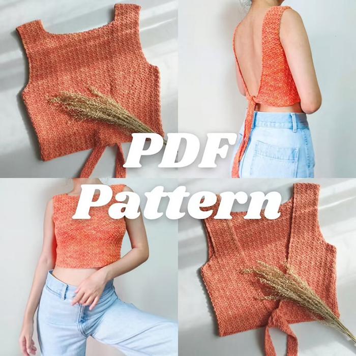 Ivy Top Crochet Pattern