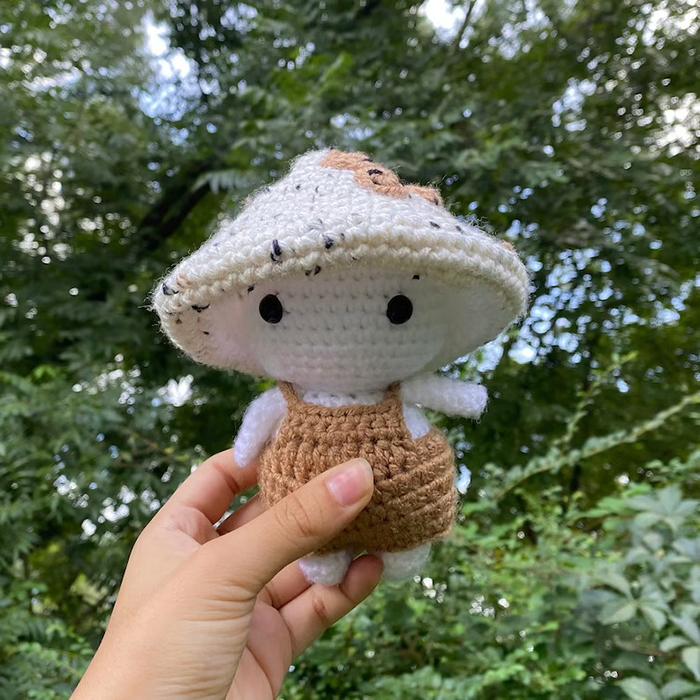 Mushroom Baby Crochet Pattern