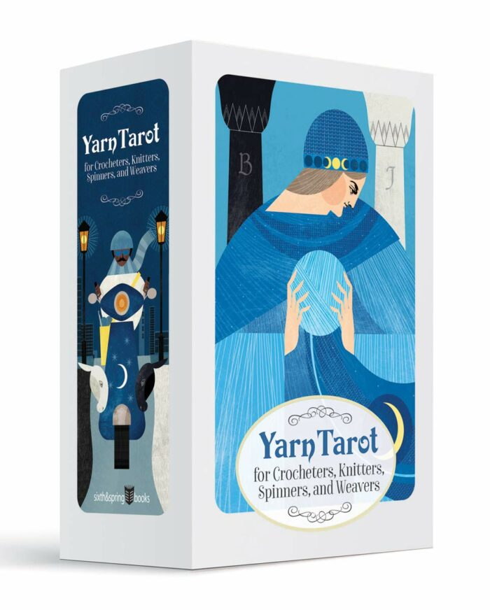 Yarn Tarot For Crocheters, Knitters, Spinners, and Weavers (Modern Tarot Library)