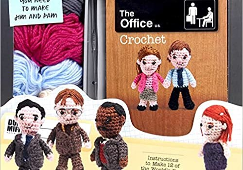 The Office Crochet – This Crochet Kit is Too Fun!