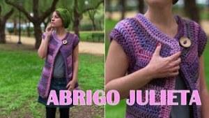 Abrigo Julieta a crochet