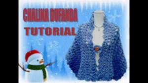 Bufanda chalina crochet