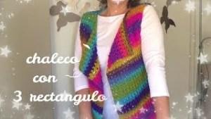 Chaleco a crochet fácil