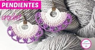 Pendientes a Crochet