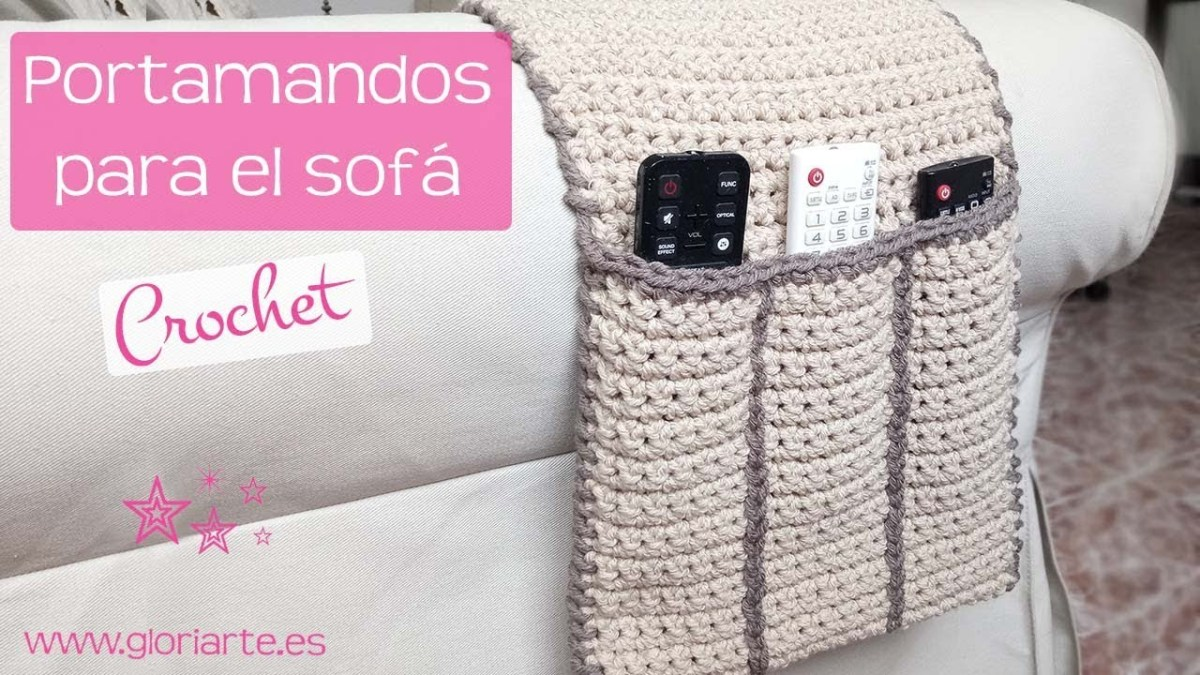 Portamandos crochet   Crochet Full 🍁