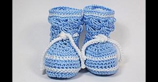 Petucos niño crochet