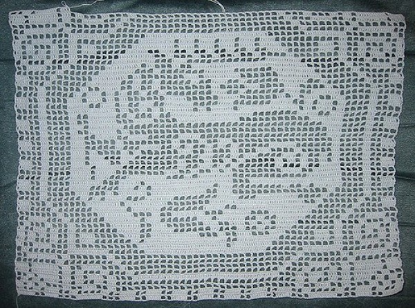 How To Read And Work Filet Crochet Graphs