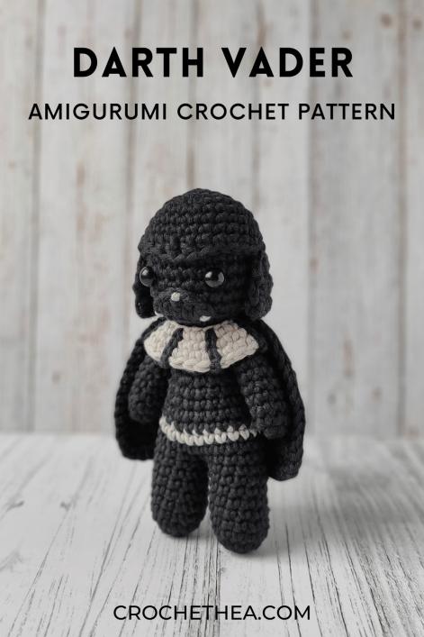 darth vader amigurumi crochet pattern