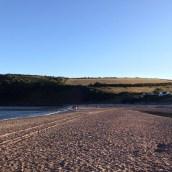 Where farmland and beach meet