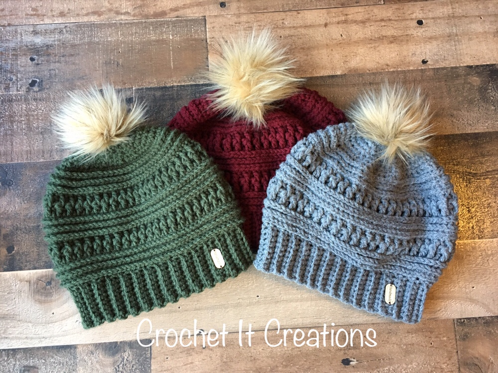 Make Your Own Faux Fur Pom Poms Crochet It Creations