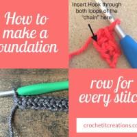 Foundation Rows
