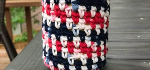 Drink Koozie Free Crochet Pattern by Crochet It Creations