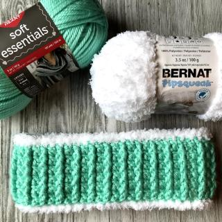 Sherpa Ear Warmer Headband Crochet Pattern by Crochet It Creations