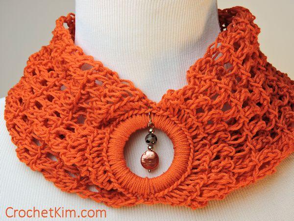 CrochetKim Free Crochet Pattern   Bandeau Cowl @crochetkim