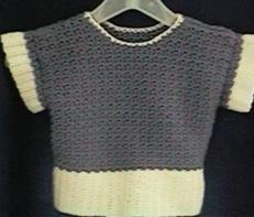 CrochetKim Free Crochet Pattern   Child's Lilac Frost Sweater @crochetkim