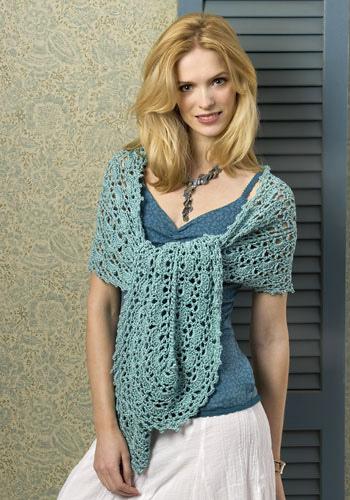 CrochetKim Free Crochet Pattern | Oasis Wrap