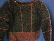 CrochetKim Free Crochet Pattern   Chenille Stripes Sweater