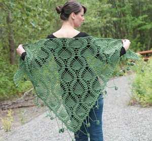 Free Crochet Pattern: Alpine Shawl