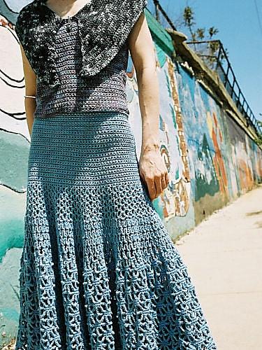 Spiderweb Skirt Crochetkim