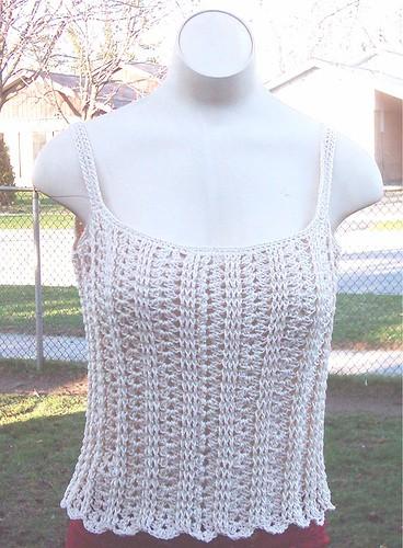 Free Crochet Pattern: Sweetie Pie Cami