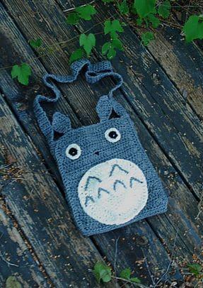 Free Crochet Pattern: Totoro Purse