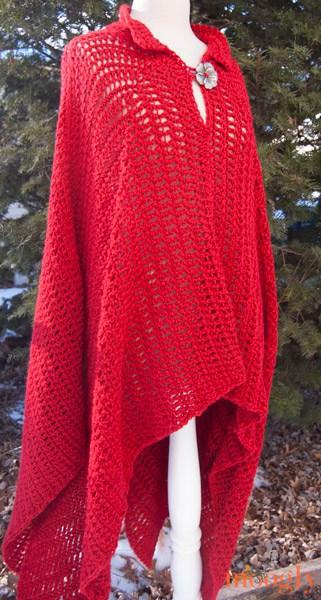 Fairy Tale Poncho Free Crochet Pattern Crochetkim