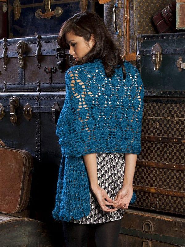 Free Crochet Pattern: Wrapster Shawl