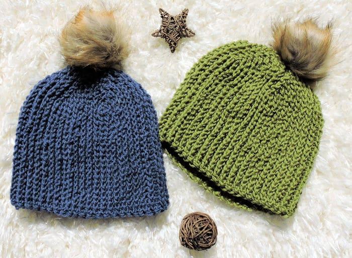 Men's Favorite Beanie | CrochetKim Free Crochet Pattern