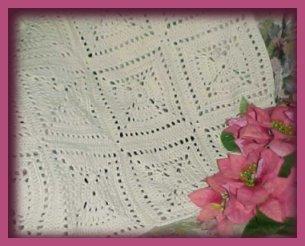 CrochetKim Free Crochet Pattern | Angel Afghan @crochetkim