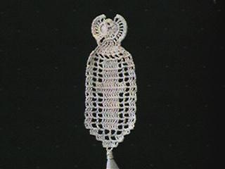 CrochetKim Free Crochet Pattern   Angel Bookmark @crochetkim