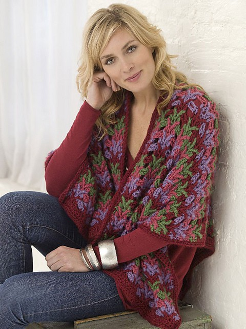Christmas Country Wrap Free Crochet Pattern