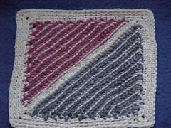 CrochetKim Free Crochet Pattern | Cro-Hook Dishcloth @crochetkim