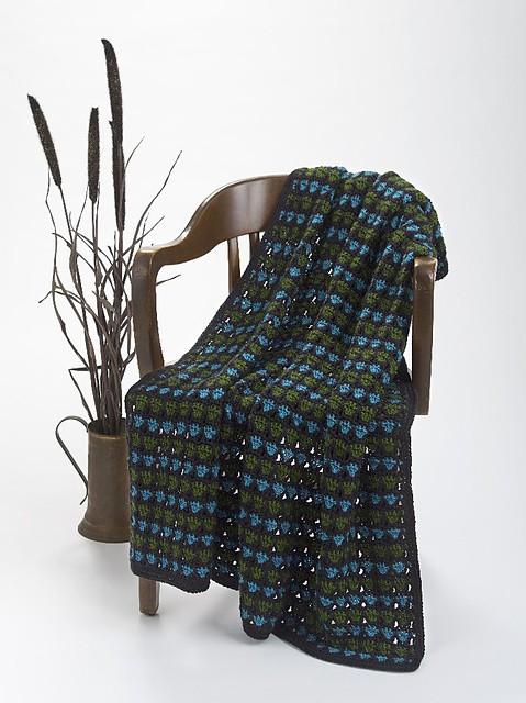 CrochetKim Free Crochet Pattern | Eco Throw