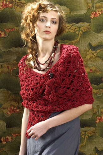 Naples Wrap   CrochetKim Free Crochet Pattern