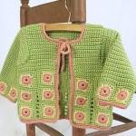 CrochetKim Free Crochet Pattern | Shui Baby Jacket