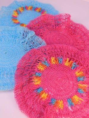 CrochetKim Free Crochet Pattern | Sunshine Scrubs @crochetkim