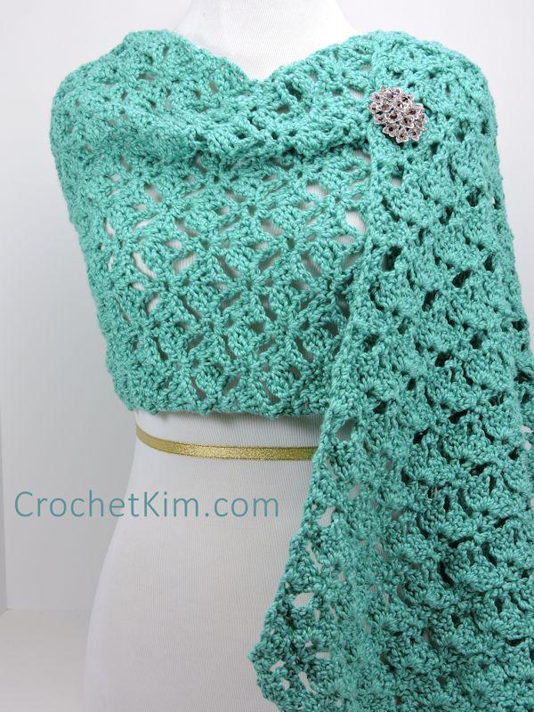 Berry Harvest Bandana Cowl Free Crochet Pattern Crochetkim