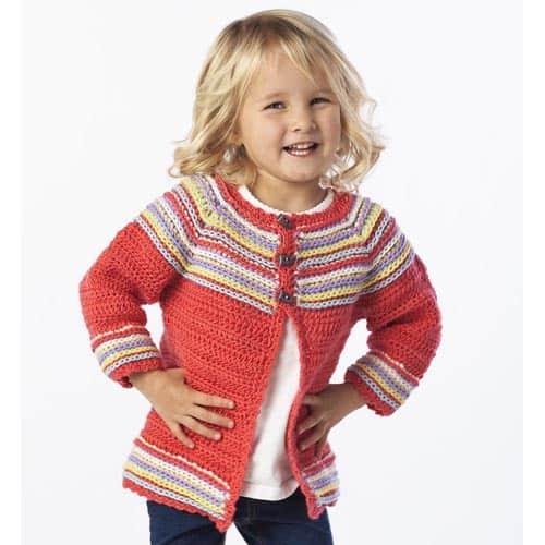 Free Crochet Pattern: Cutie Bug Cardi