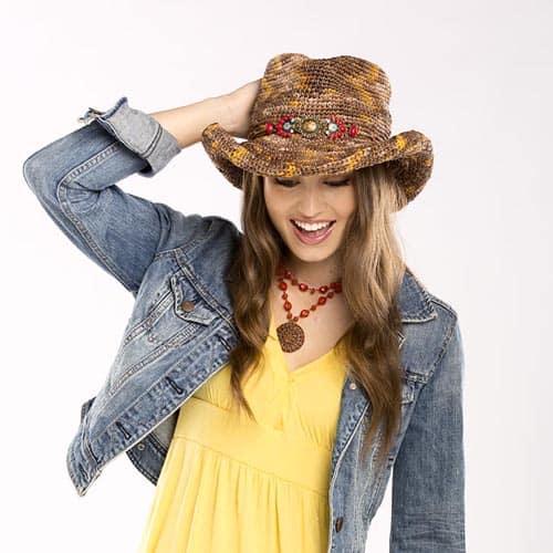 Free Crochet Pattern: Abilene Cowgirl Hat