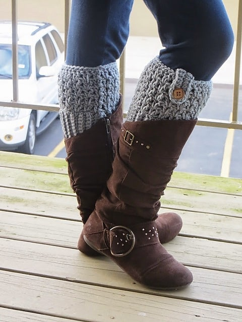 Free Crochet Pattern: Bailey Boot Cuffs