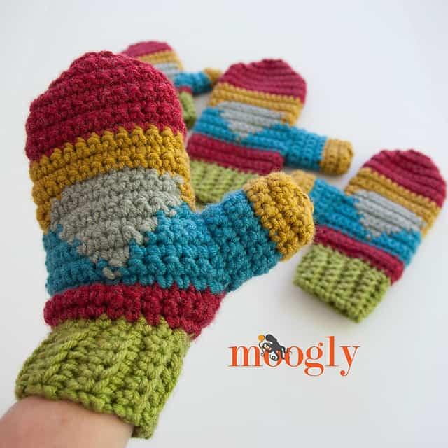 Free Crochet Pattern: Hello Gnome Mittens