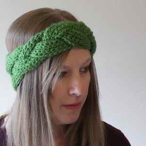 Free Crochet Pattern: Braided Headband