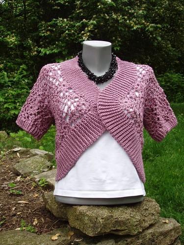 Crystal Lace Bolero Free Crochet Pattern