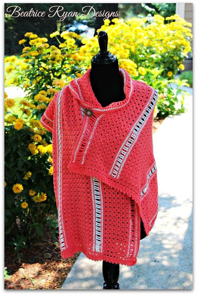 Free Crochet Pattern: Amazing Grace Summer Shawl