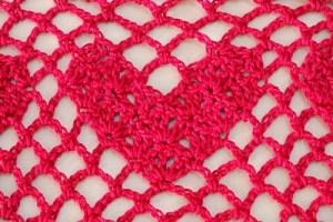 Free Crochet Pattern: Sweet Heart Shawl