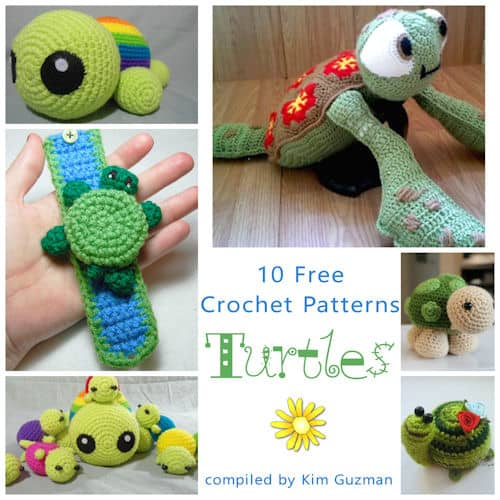 Link Blast 10 Free Crochet Patterns For Turtles Crochetkim