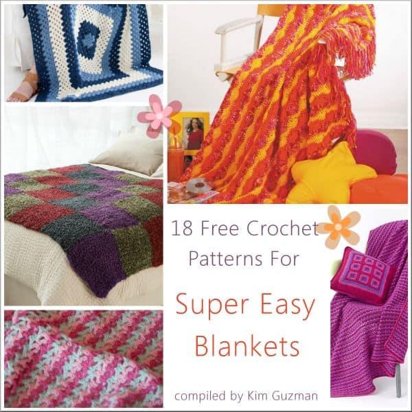 Link Blast: Free Crochet Patterns for Easy Afghans