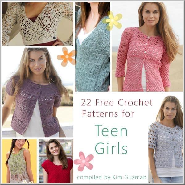 Link Blast: Free Crochet Patterns for Tops for Teen Girls